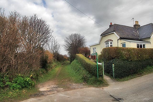 The site of Bishopscourt Halt