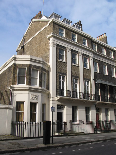 Houses in Endsleigh Street, WC2