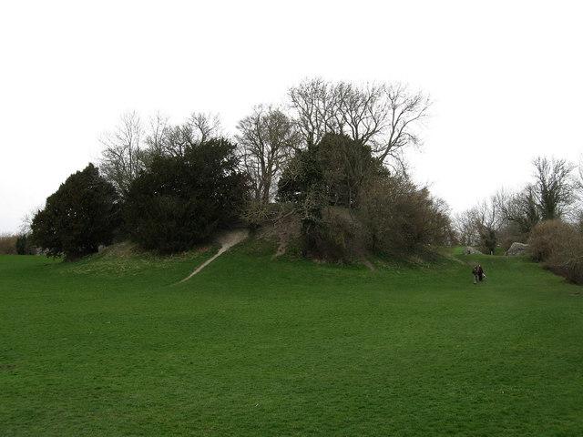 Motte, Bramber Castle