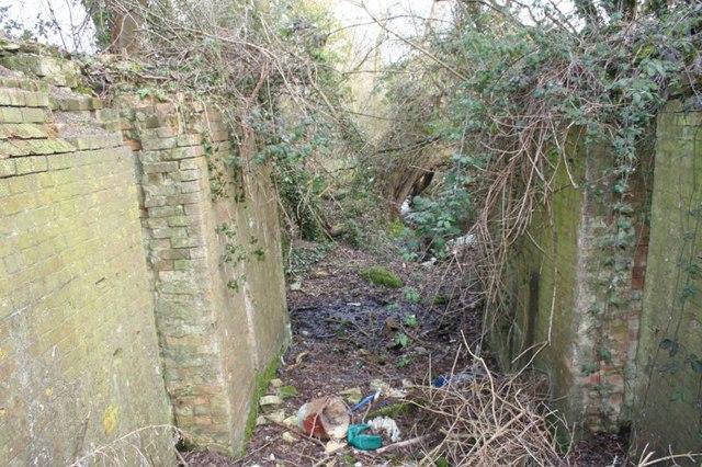 Where the gates were