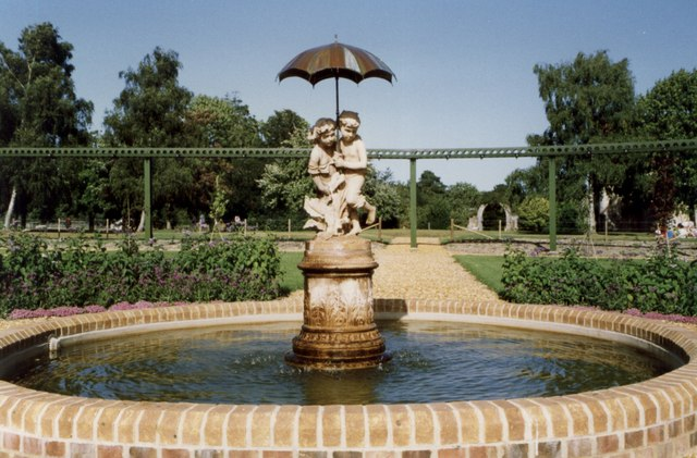 A Fountain at Beaulieu