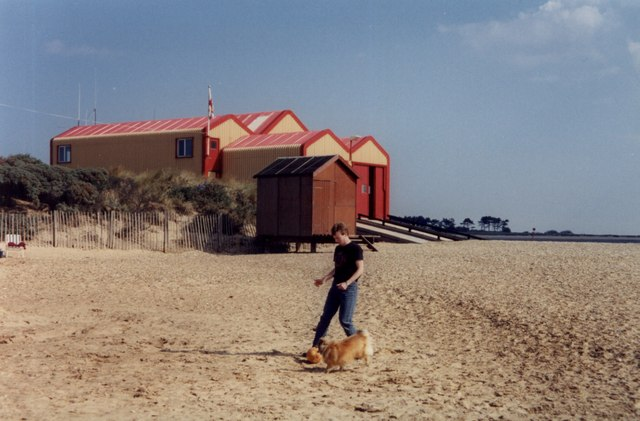 Lifeboat station at Wells-next-the-Sea
