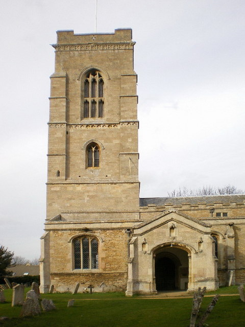 All Saints Church, Elton, Tower