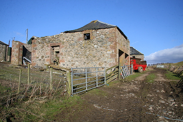 Old barns, Cowhillock farm