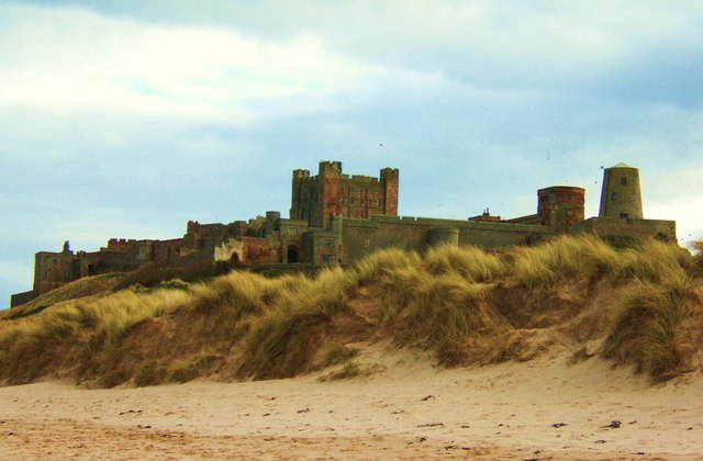 The Castle from the Beach