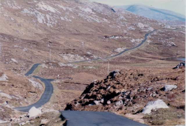 The lonely B887 in Harris
