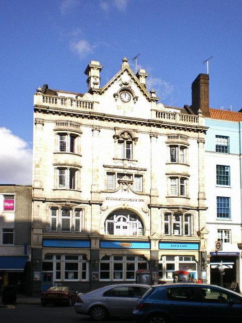 Formerly St Christopher's Inn now called Belushi's