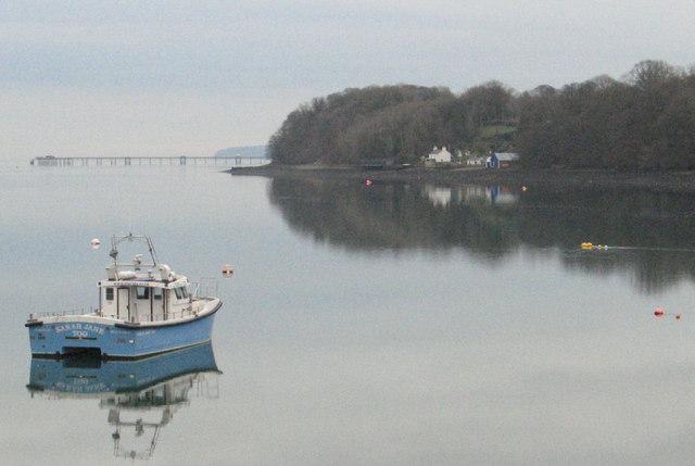 Menai Strait from Menai Bridge