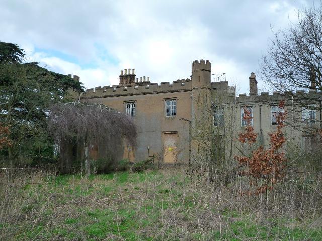 Twyford Abbey - southern elevation
