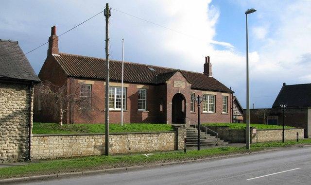 Old Malton War Memorial Hall 1914 - 1918