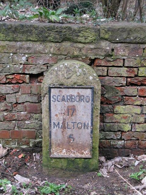 Rillington Milestone