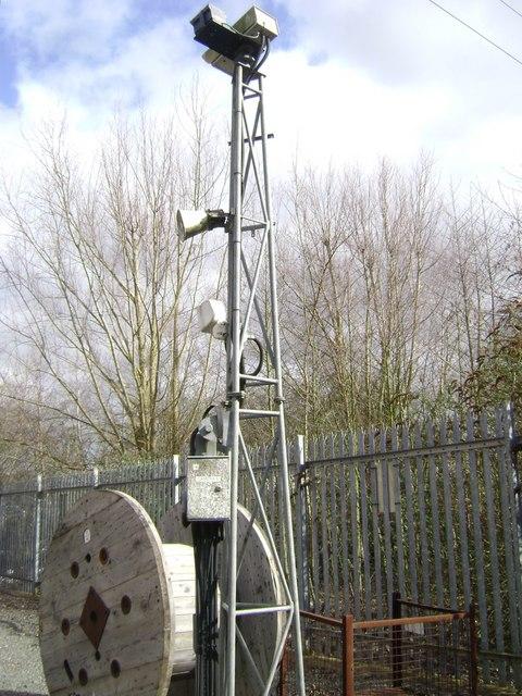 Camera 6, electricity substation, Warwick