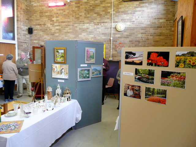 Exhibition at Christ Church, Ross-on-Wye