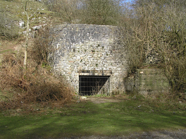 Lime Kiln in Black Nature Reserve, Cheddar.
