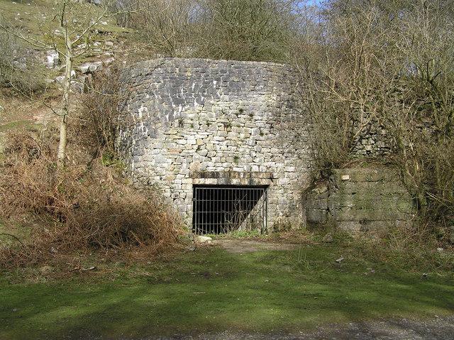 Lime Kiln in Black Nature Reserve, Cheddar.