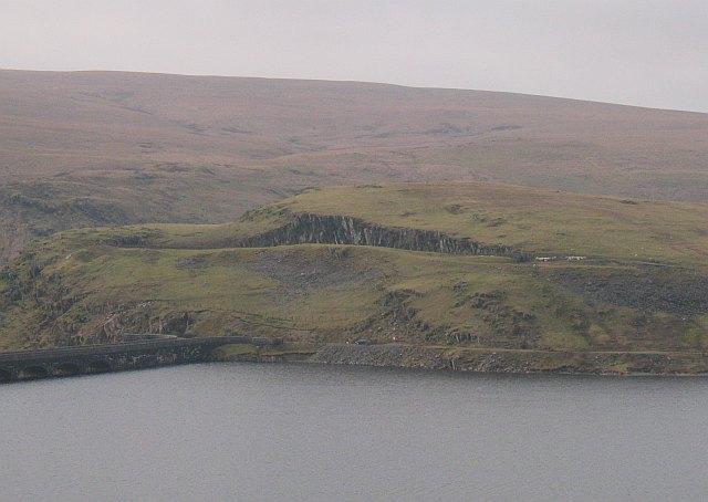 Quarry, Claerwen Dam