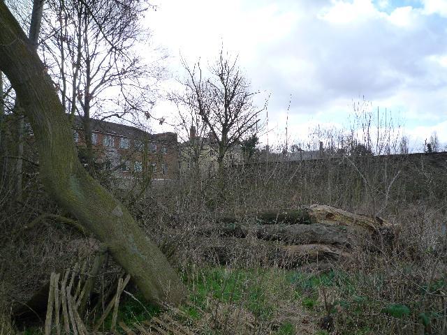 Twyford Abbey - northern elevation