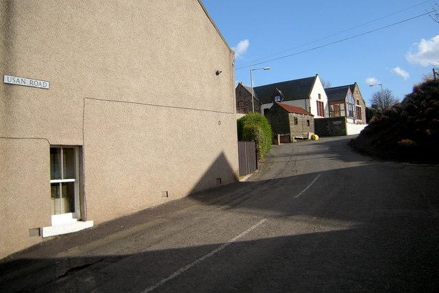 View of Usan Road, Ferryden