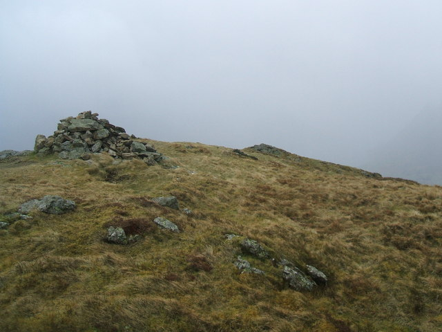 The 412m top of Loweswater Fell