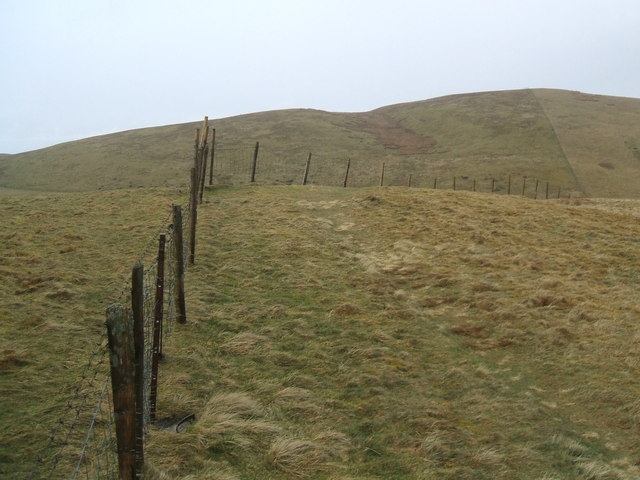 Fence on Smithy Fell