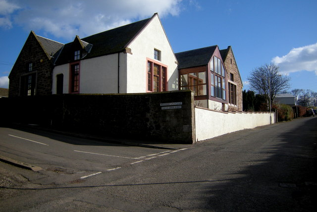 The Old School in Usan Road, Ferryden