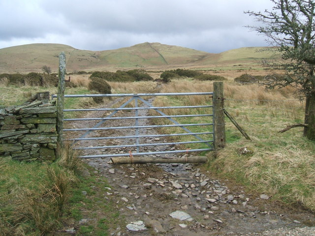 Gate by the Mosser Road