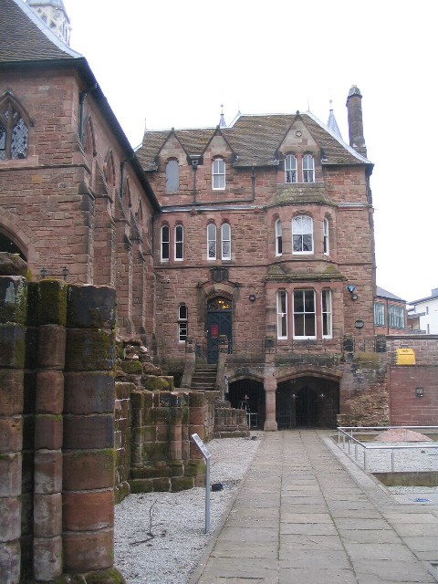 Old Blue Coat school, Priory Row