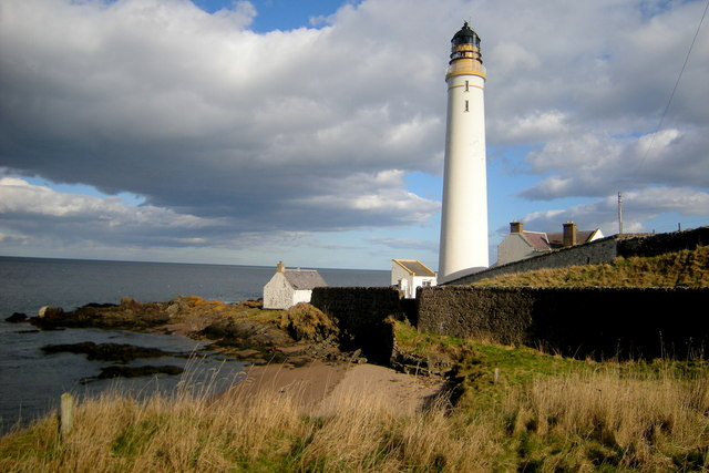 Another View of Scurdie Ness Lighthouse