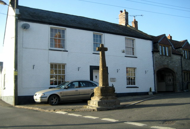 Ancient market cross - Winsham