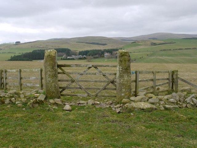 Gate east of Scrainwood