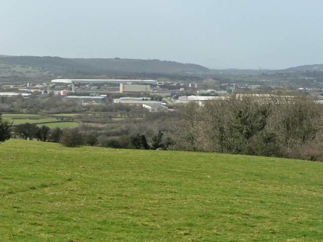 From St Mary Hill to Waterton Industrial Estate.
