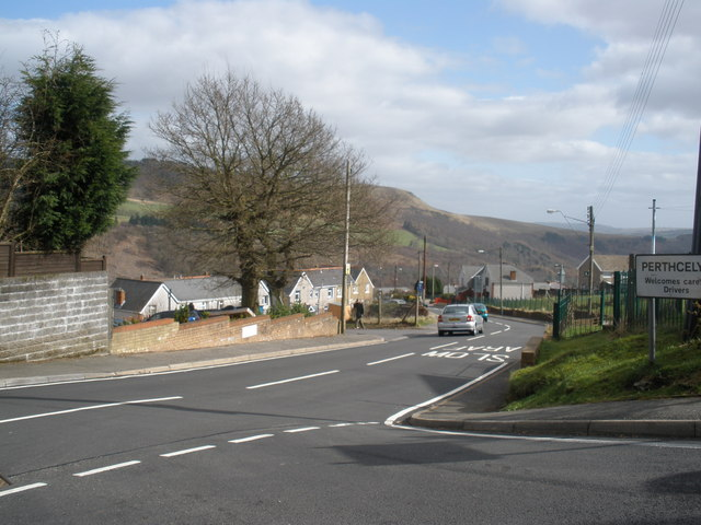Entrance to Perthcelyn