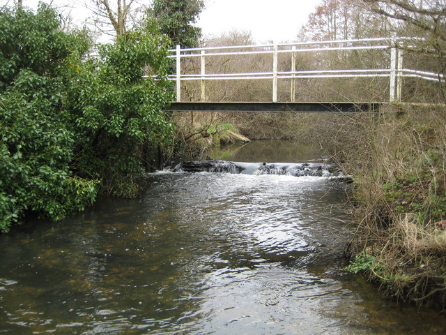 The Cut at Watersplash Lane ford, Newell Green