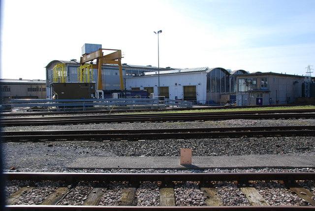 Laira rail depot