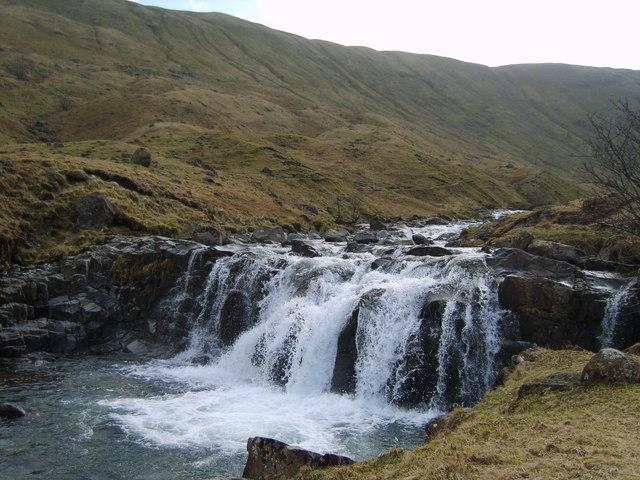 Waterfall, Langstrath Beck