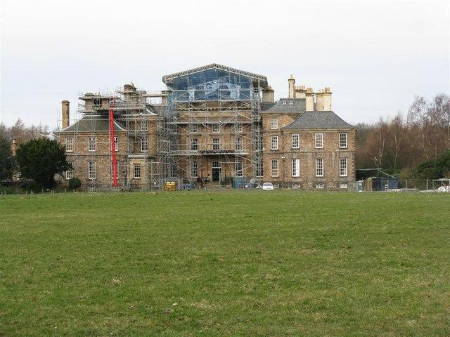 Dalkeith House - still under repair
