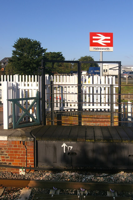 Halesworth Station