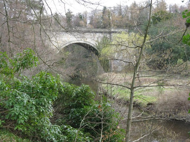 The Montagu Bridge over the River North Esk