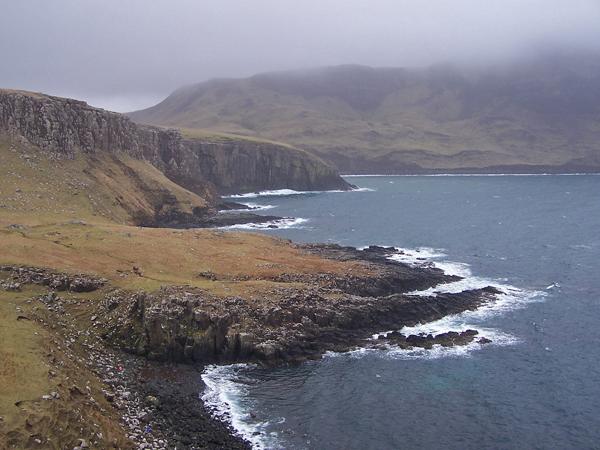 Coast east of Neist Point