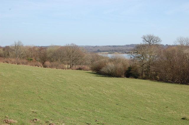 View towards Darwell Reservoir