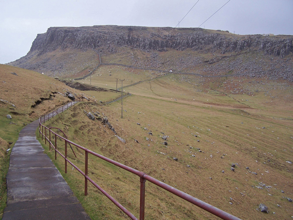 Path from Neist Point lighthouse