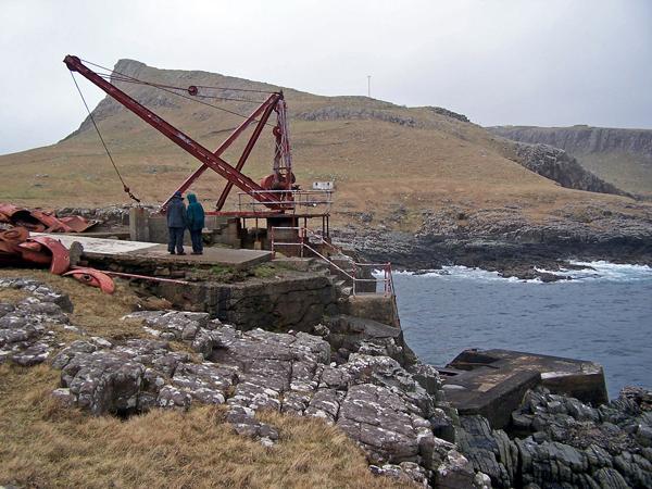 Neist Point jetty