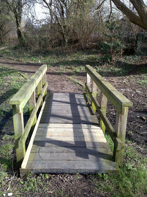 Mended Footbridge