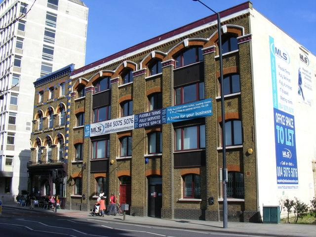 Old Warehouse Albert Embankment