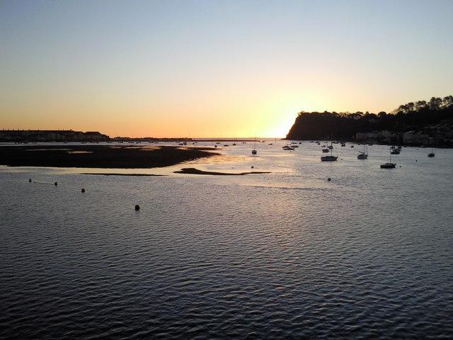 Sunrise over The Ness