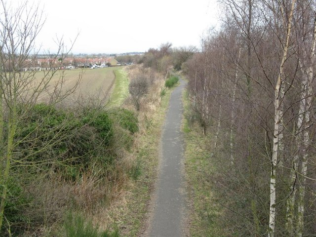 Cycleway to Musselburgh