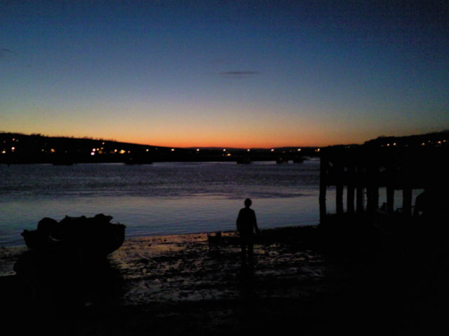 River Teign Estuary at Sunset