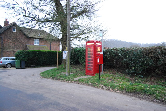 Telephone Box & Postbox, Hawkley