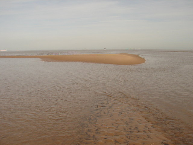 Looking north-east towards Spurn Head and Bull Sand Fort