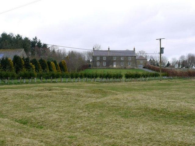 Scrainwood farmhouse